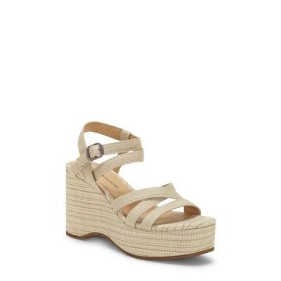 ラッキーブランド レディース サンダル シューズ Carlisha Platform Wedge Sandal LIGHT STONE FABRIC