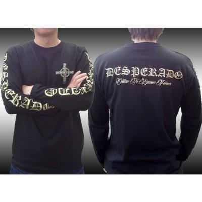 【DESPERADO】デスペラード アウトロー SPEC2 ロングTシャツ/BK