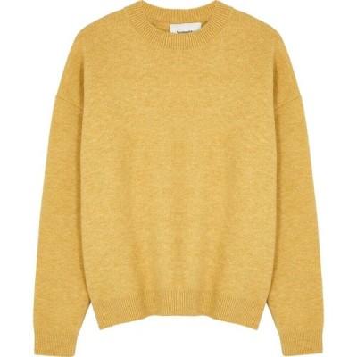 ナヌシュカ Nanushka レディース ニット・セーター トップス junia mustard wool-blend jumper Yellow