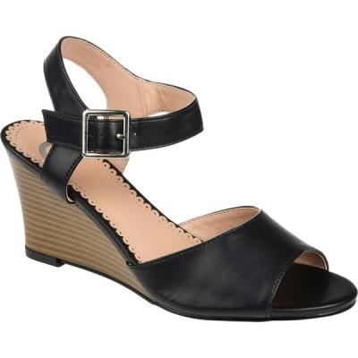 ジュルネ コレクション Journee Collection レディース シューズ・靴 ウェッジソール Ricci Wedge Black