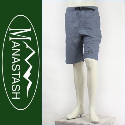 MANASTASH マナスタッシュ ライトクライムショートパンツ ヘンプ×コットン ライトブルー MANASTASH LIGHT CLIMB SHORTS 7186004-82