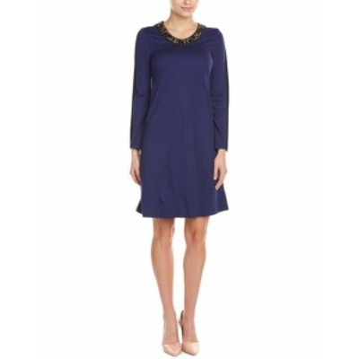 ファッション ドレス Piazza Sempione A-Line Dress 40 Blue