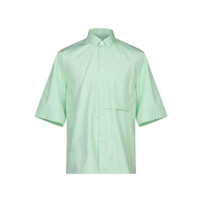 ジル サンダー JIL SANDER シャツ ライトグリーン 41 コットン 100% シャツ