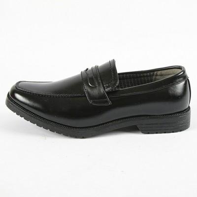 ☆Wilson ウィルソン メンズ 防水 ビジネスシューズ ローファー WL282 ブラック 24.5cm~28cm  靴 シューズ(27)