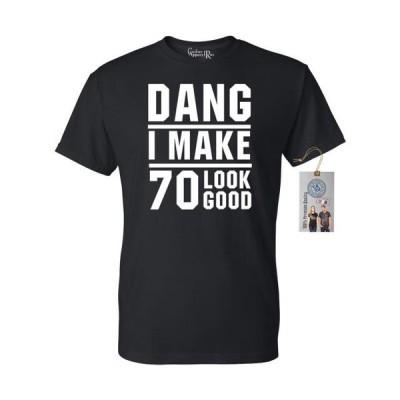 メンズ 衣類 トップス Dang I Make 70 Look Good Mens Womens T-Shirt Top グラフィックティー
