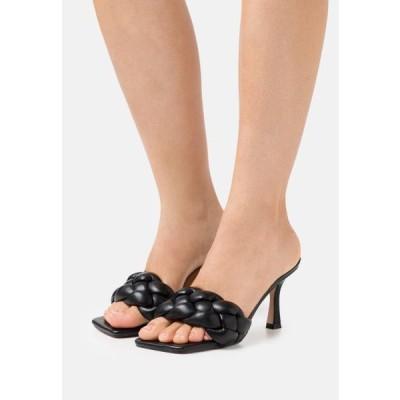 レディース 靴 シューズ SANDRA - Heeled mules - black