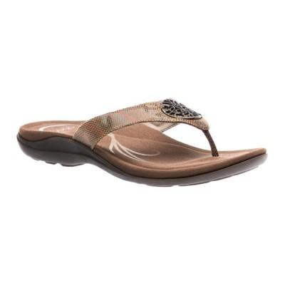 レディース 靴 サンダル ABEO Women's Beauty Metatarsal - Flip Flop Sandals