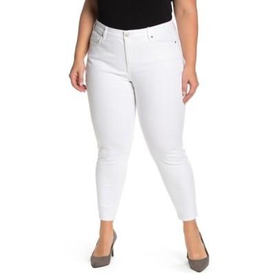 エヌワイディージェイ レディース デニムパンツ ボトムス Ami Ankle Crop Skinny Jeans (Plus Size) OPTIC WHIT