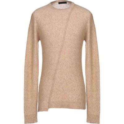 ルクエス LUCQUES メンズ ニット・セーター トップス Sweater Sand