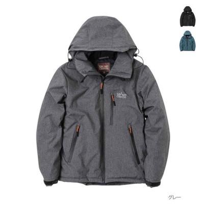 中綿ジャケット ジップパーカー ジャケット 中綿 メンズ グランドキャニオン アウトドア 撥水 防風 UV