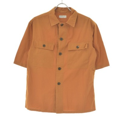 TOMORROWLAND / トゥモローランド コットンリップストップビッグシルエット 五分袖シャツ