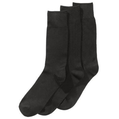 ペリーエリス メンズ 靴下 アンダーウェア Perry Ellis Men's 3-Pk. Stay Dry Comfort Socks