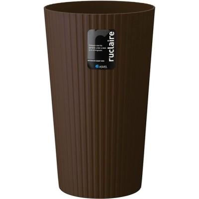アスベル ゴミ箱L 「ルクレールコレクション」 13L ブラウン