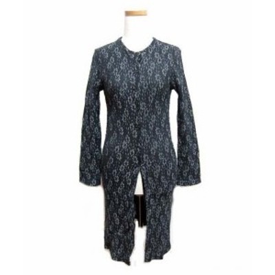 NICE CLAUP アンティークフラワーキルト柄ドレスワンピース (Antique flower quilt design dress dress) ナイスクラップ 046093【中古】