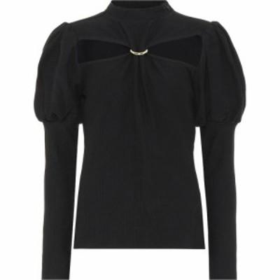 カルト ガイア Cult Gaia レディース ブラウス・シャツ トップス mora cotton blouse Black
