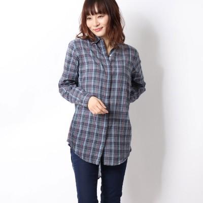 プラステ PLST 【SUNDRY】 オーバーサイズシャツ (グレー)