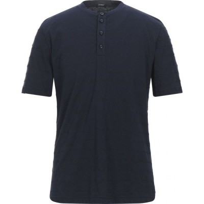 ヨーン YOON メンズ Tシャツ トップス T-Shirt Dark blue