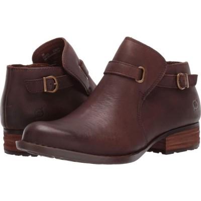 ボーン Born レディース ブーツ シューズ・靴 Kristina Dark Brown Full Grain Leather