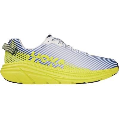 ホカ オネオネ Hoka One One メンズ ランニング・ウォーキング シューズ・靴 HOKA ONE ONE Rincon 2 Running Shoes White/Citrus