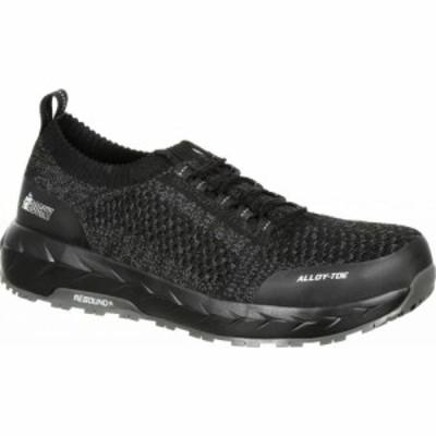 ロッキー Rocky メンズ シューズ・靴 LX Alloy Toe Athletic Work Shoe RKK0248 Black/Grey Mesh/TPU