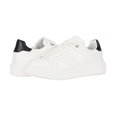 Steve Madden スティーブマデン レディース 女性用 シューズ 靴 スニーカー 運動靴 Catcher Sneaker - White/Black