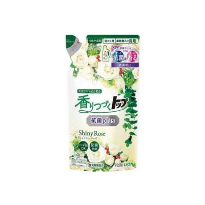 ライオン 香りつづくトップ 抗菌plus シャイニーローズ 詰め替え 720g 柔軟剤入り洗濯洗剤