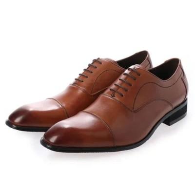 ヴィアカミーノ via cammino ビジネス メンズ VC1505 ライトブラウン LBR 2527cm madras マドラス 靴 シューズ 本革
