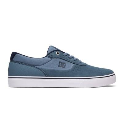 カジュアルシューズ ディーシーシューズ DC Shoes Men's Switch Shoes ADYS300431 LIGHT BLUE