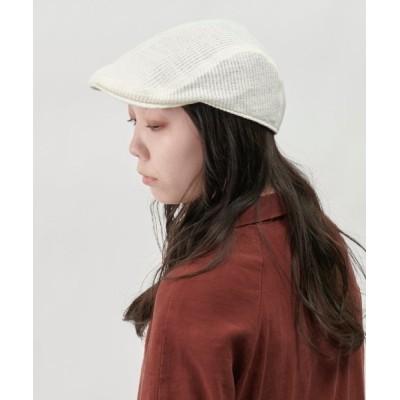 OVERRIDE / 【OVERRIDE】SUMMER KNIT HUNTING / 【オーバーライド】サマー ニット ハンチング WOMEN 帽子 > キャップ