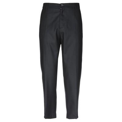 LOW BRAND パンツ ブラック 33 ウール 70% / ナイロン 25% / 指定外繊維 5% パンツ