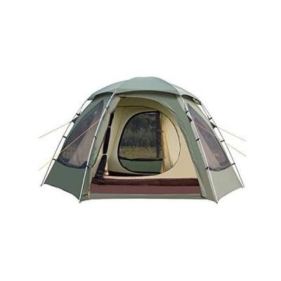 【並行輸入品】Tents Camping Tent 4 Person Easy Set Up with Big Mesh Windows Waterproof Double Layer Instant Tent for Family Hiking Ou