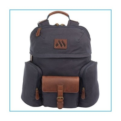 MACHIR Signature Casual Travel Backpack For Work Business Travel Hiking and Vacation Bookbag並行輸入品