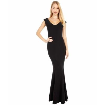 カマリカルチャー ワンピース トップス レディース Grace Fishtail Gown Black