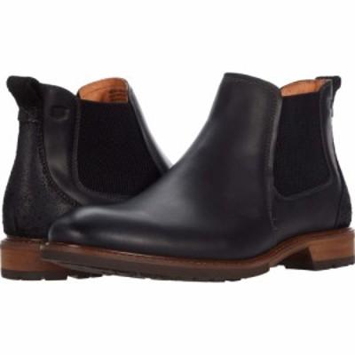 フローシャイム Florsheim メンズ ブーツ シューズ・靴 Lodge Plain Toe Gore Boot Black Crazy Horse