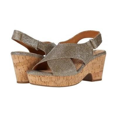 White Mountain ホワイトマウンテン レディース 女性用 シューズ 靴 ヒール Covington - Gold