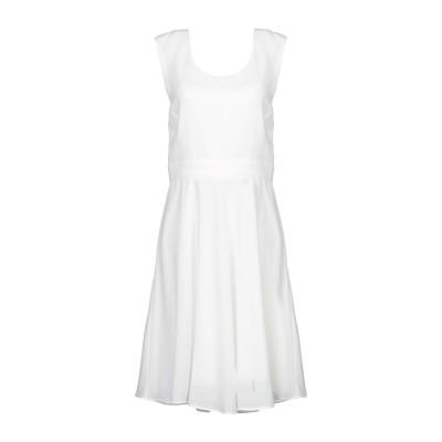 パトリツィア ペペ PATRIZIA PEPE ミニワンピース&ドレス ホワイト 42 アセテート 70% / ポリエステル 30% ミニワンピース