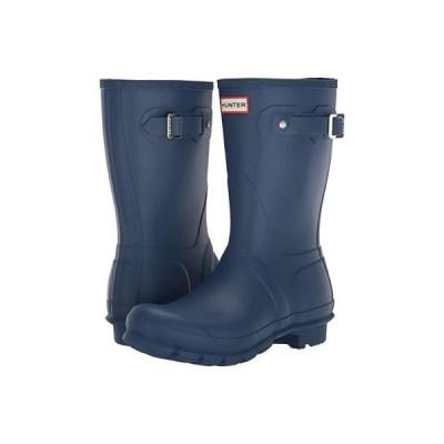 ハンター Original Short Rain Boots レディース ブーツ Peak Blue