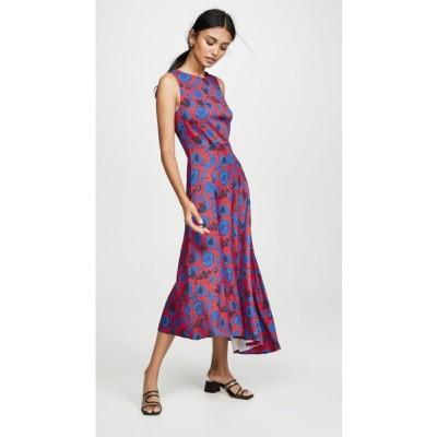 ラダブルジェー La Double J レディース ワンピース ノースリーブ ワンピース・ドレス Pina Sleeveless Dress Wildbird Rosso
