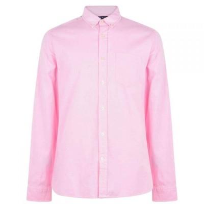 ハウィック Howick メンズ シャツ ワイシャツ トップス Oxford Shirt Pink