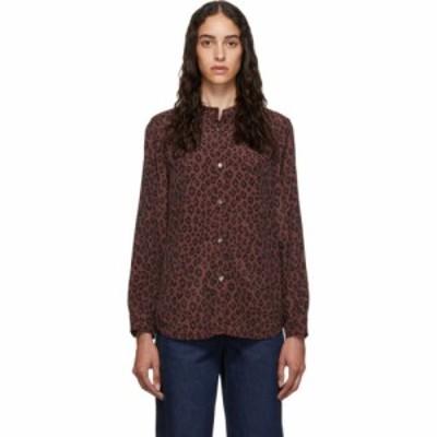 アーペーセー A.P.C. レディース ブラウス・シャツ トップス burgundy alice blouse