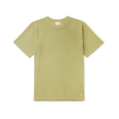 ARMOR-LUX T シャツ ミリタリーグリーン M コットン 100% T シャツ