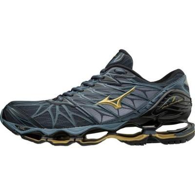 ミズノ Mizuno メンズ ランニング・ウォーキング シューズ・靴 Wave Prophecy 7 Running Shoe black/ombre blue