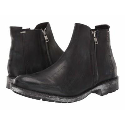 スティーブ マデン メンズ ブーツ&レインブーツ シューズ Treason Boot Black Leather