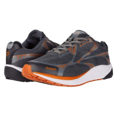 プロペット Propet メンズ スニーカー シューズ・靴 One LT Dark Grey/Burnt Orange