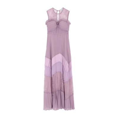 TRUE DECADENCE ロングワンピース&ドレス ライラック 10 ポリエステル 100% ロングワンピース&ドレス