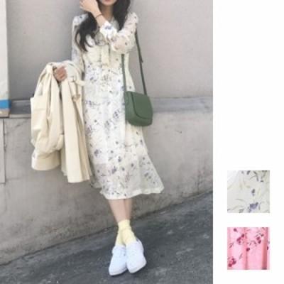 韓国 ファッション レディース ワンピース 夏 春 カジュアル naloA278  リゾートワンピース ハワイ シアー シースルー シフォン風 ボウタ