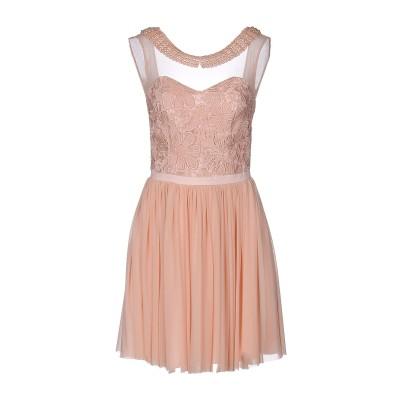 SOANI ミニワンピース&ドレス ピンク 46 ポリエステル 100% / ポリウレタン ミニワンピース&ドレス
