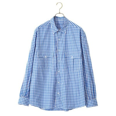 Porter Classic / ポータークラシック : ROLL UP TRICOLOR G/C SHIRT : PC-016-1314