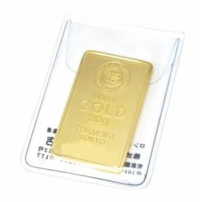 徳力本店 純金 インゴット ゴールドバー 24金 30g K24 金塊(42084)