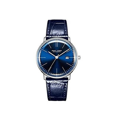 Reef Tiger Blue Dial Luxury Dress Watches Automatic Watches Waterproof RGA8